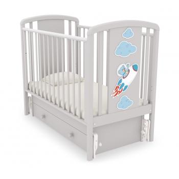 Детская кроватка Gandilyan (Гандылян) Жаклин (маятник)