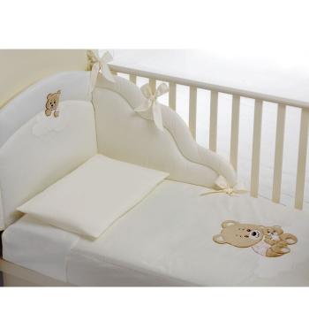 Комплект белья из 4-х предметов Baby Expert Abbracci by Trudi