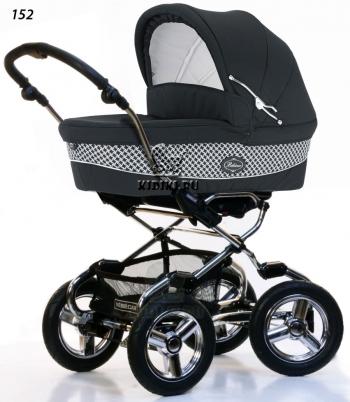 Коляска для новорожденных Bebecar Stylo AT Chrome