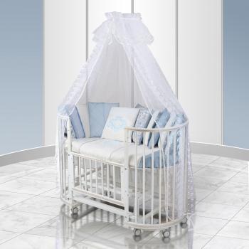 Комплект постельного белья Eco Line Vinsent (круглая кроватка)