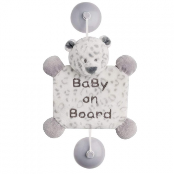Знак автомобильный Nattou Baby on board Loulou, Lea Hippolyte