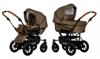 Коляска 2 в 1 Emmaljunga Edge Duo Combi Outdoor (шасси Duo S Outdoor)