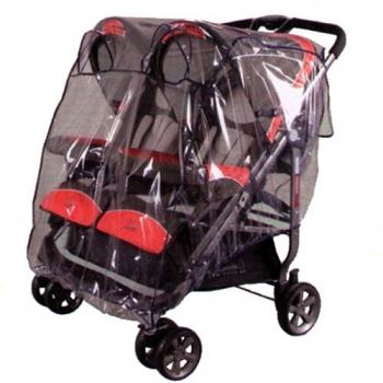Дождевик универсальный  для коляски двойни