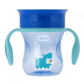 Чашка-поильник Chicco Perfect Cup (носик 360), 12 мес.+, 266 мл