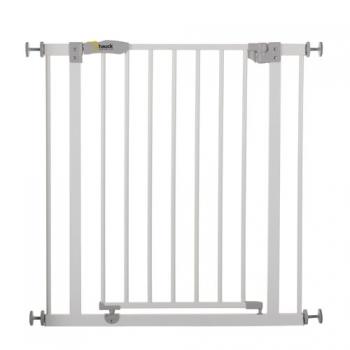 Детские ворота безопасности Hauck Open N Stop + 9 cm (white)