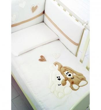 Комплект белья Baby Expert Cremino by Trudi (4 предмета)