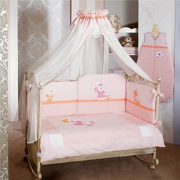 Комплект постельного белья Feretti Trio High Long Lapin (6 предметов высокий борт)
