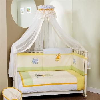 Комплект постельного белья Feretti Sestetto High Long Jungle (6 предметов высокий борт)