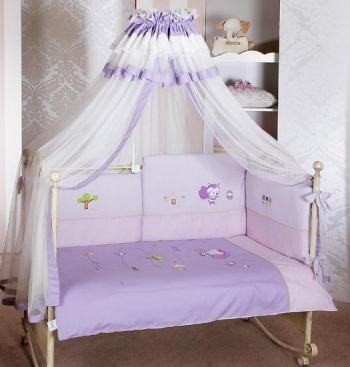 Комплект постельного белья Feretti Sestetto High Long Bee (6 предметов высокий борт)