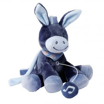 Мягкая музыкальная игрушка Nattou Soft Toy Mini Alex Bibou