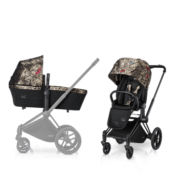Коляска 2 в 1 Cybex Priam FE Butterfly