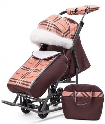 Санки-коляска Pikate Supreme