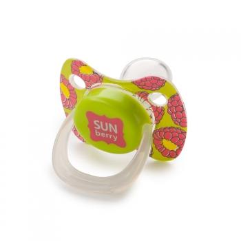 Соска-пустышка симметричной формы с колпачком Happy Baby