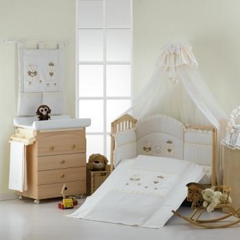 Постельный комплект Roman Baby REAL BEARS 5 предметов