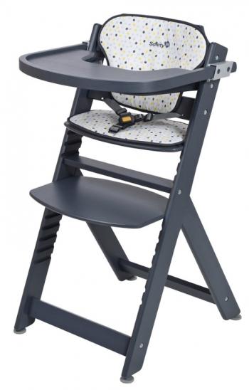 Стульчик для кормления Safety 1st Timba with Tray and Cushion + мягкий вкладыш