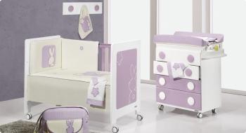 Комплект постельного белья Trama Momo Malva серия Trendy