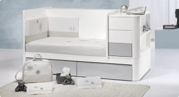 Комплект постельного белья Trama Cinza серия Trendy