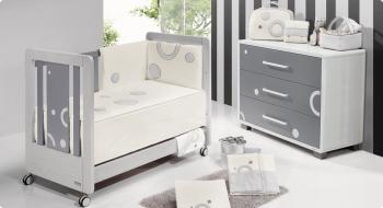 Комплект постельного белья Trama Circles Cinza серия Look