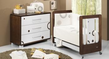 Комплект постельного белья Trama Circles Chocolate серия Look