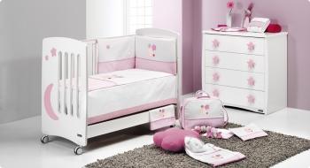 Комплект постельного белья Trama Star Pink серия Look
