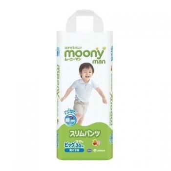 Трусики Moony для мальчиков 12-17 кг. 36 шт. (BIG)