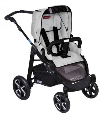 Прогулочная  коляска Patron Fenix 4C-B (черная рама)
