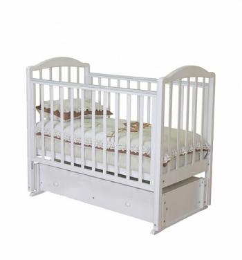 Детская кроватка-качалка Можга Регина С 600