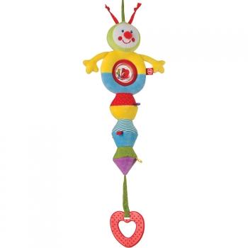 Подвесная погремушка-растяжка Happy Baby Гусеница