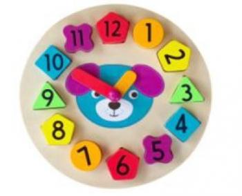 Развивающая игрушка Baby Mix Часы