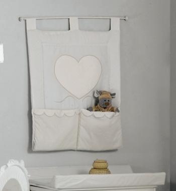 Панно с карманами Roman Baby CUORE DI MAMMA