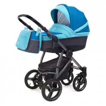 Коляска для новорожденных Esspero Grand Newborn Lux (шасси Graphite)