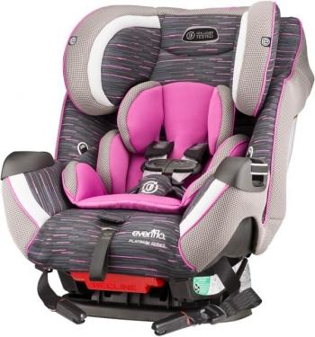 Автомобильное кресло Evenflo Symphony™ e3 LX Platinum Series™ (Rollover tested)
