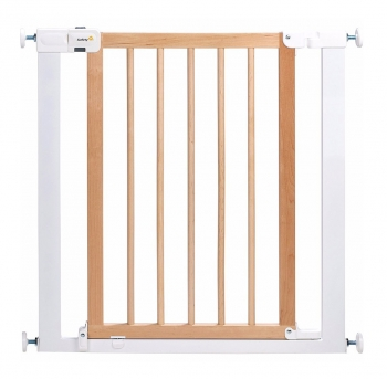 Ворота безопасности Safety 1st EASY CLOSE WOOD (73-80,5 см) цвет натур. дерево