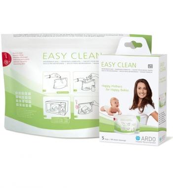 Пакеты для стерилизации в микроволновой печи Ardo Easy Clean (5шт./уп.)