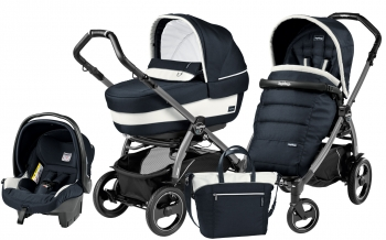 Коляска 3 в 1 Peg Perego Book 51 S Elite Set Modular (шасси Jet)