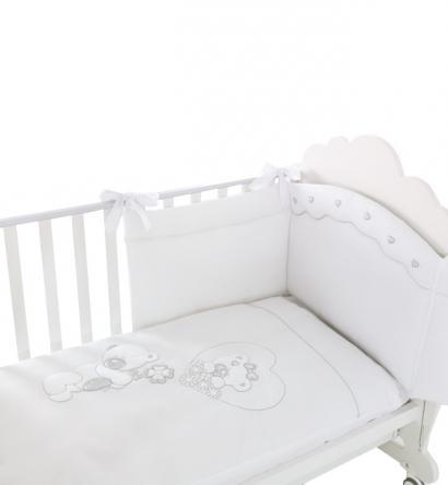 Комплект белья из 4-х предметов Baby Expert Serenata