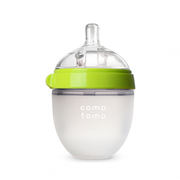 Бутылочка для кормления COMOTOMO (150 мл.) Natural Feel Baby Bottle