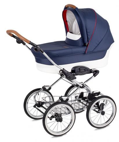Коляска для новорожденных Navington Caravel (большие колеса)