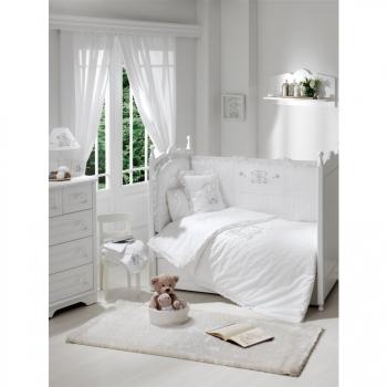 Постельное белье Funnababy Lovely Bear White 125x65 5 предметов