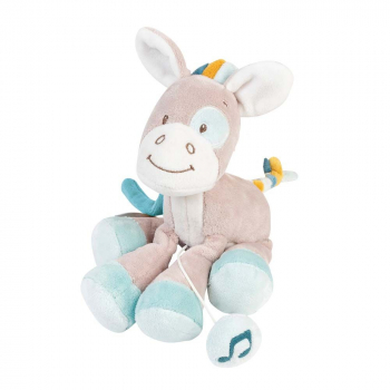 Игрушка мягкая Nattou Musical Soft toy MINI Tim & Tiloo
