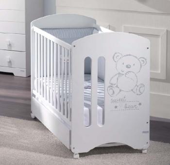 Детская кроватка Micuna Sweet Bear (c матрасом)