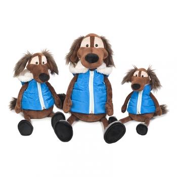 Мягкая игрушка Maxi Toys Пес Шерлок в Жилетке