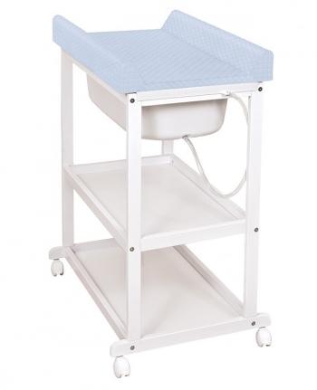 Пеленальный стол Ceba Baby Laura с матрасиком CARO