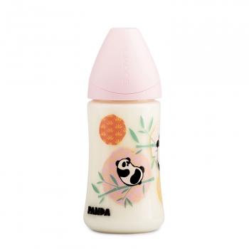 Бутылка Suavinex 270мл от 0 до 6мес. с силиконовой анатом. соской