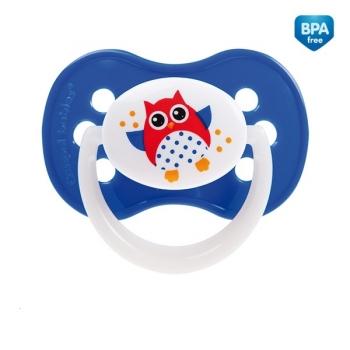 Пустышка Canpol Owl симметричная, силикон, 18+ мес., арт. 22/570