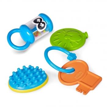 Игровой подарочный набор Chicco Baby senses (4 предмета)