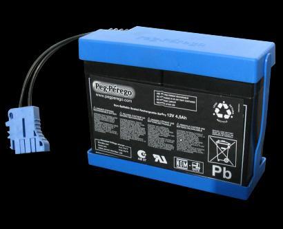 Аккумулятор для электромобилей Peg Perego 12V 4.5Ah IAKB0026
