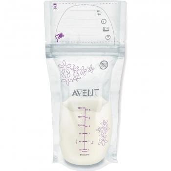 Пакеты для хранения молока Avent 180мл 25шт SCF603/25