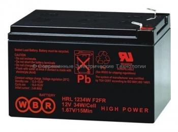 Аккумулятор WBR 12V 9Ah HR1234WF2