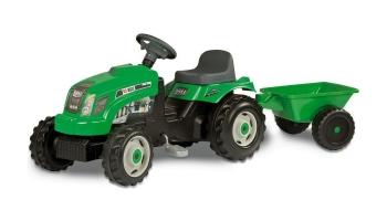 Трактор на педалях Smoby GM Bull GREEN